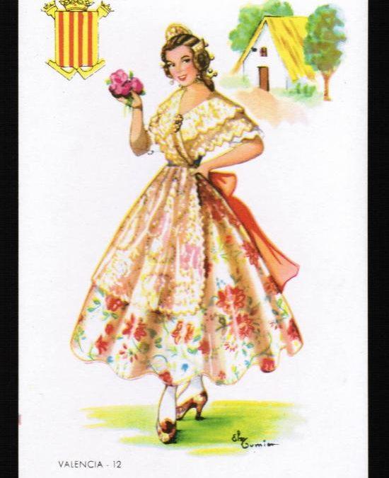 Indumentarias tradicionales de la Comunidad Valenciana